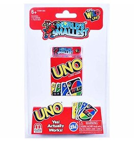 Worlds Smallest World's Smallest UNO Card Game