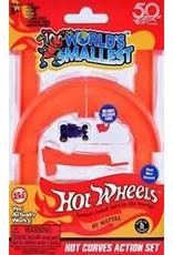 Super Impluse USA World's Smallest-Hotwheels Curve & Jump Set (incl 1 car)
