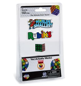 Worlds Smallest World's Smallest Rubik's Cube