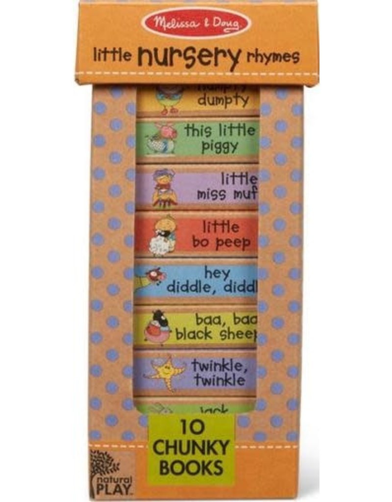Melissa & Doug Book Bundle - Little Nursery Rhymes