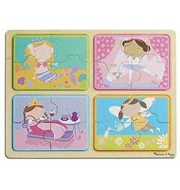 Melissa & Doug NP Wooden Puzzle Little Princess