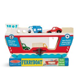 Melissa & Doug Ferry Boat with 4 Vehicles