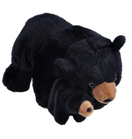 Wild Republic Plush Mom and Baby Black Bear