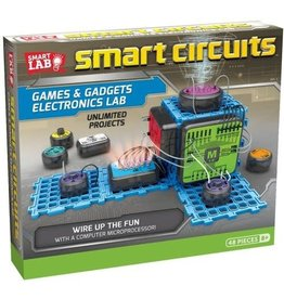 Smart lab Smart Circuits: Games & Gadgets Electronic Lab