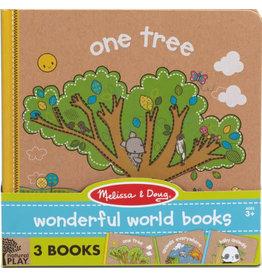 Melissa & Doug Book Bundle One Tree, Animals Everywhere, Baby Animals