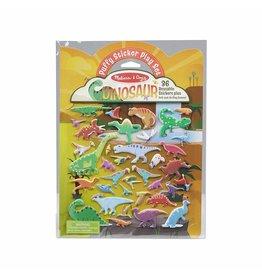 Melissa & Doug Puffy Sticker Activity Book  - Dinosaur