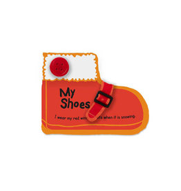 Melissa & Doug Baby Soft Book My Shoes