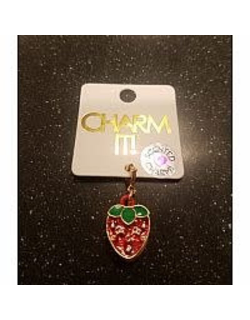 CHARM IT! Charm It! Gold Scented Strawberry Charm