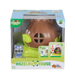 Fat Brain Toys Timber Tots Hazelnut House