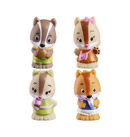 Fat Brain Toys Timber Tots NutNut Family (Set of 4)