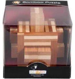Fridolin IQ Test Bamboo Puzzle - Double Sticks