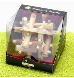 Fridolin IQ Test Bamboo Puzzle - Magic Sticks