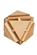 Fridolin IQ Test Bamboo Puzzle - Magic Trianglebox