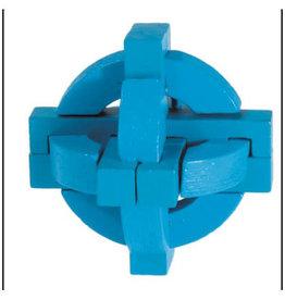 Fridolin Mini Bamboo Puzzle - Blue