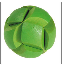 Fridolin Mini Bamboo Puzzle - Green