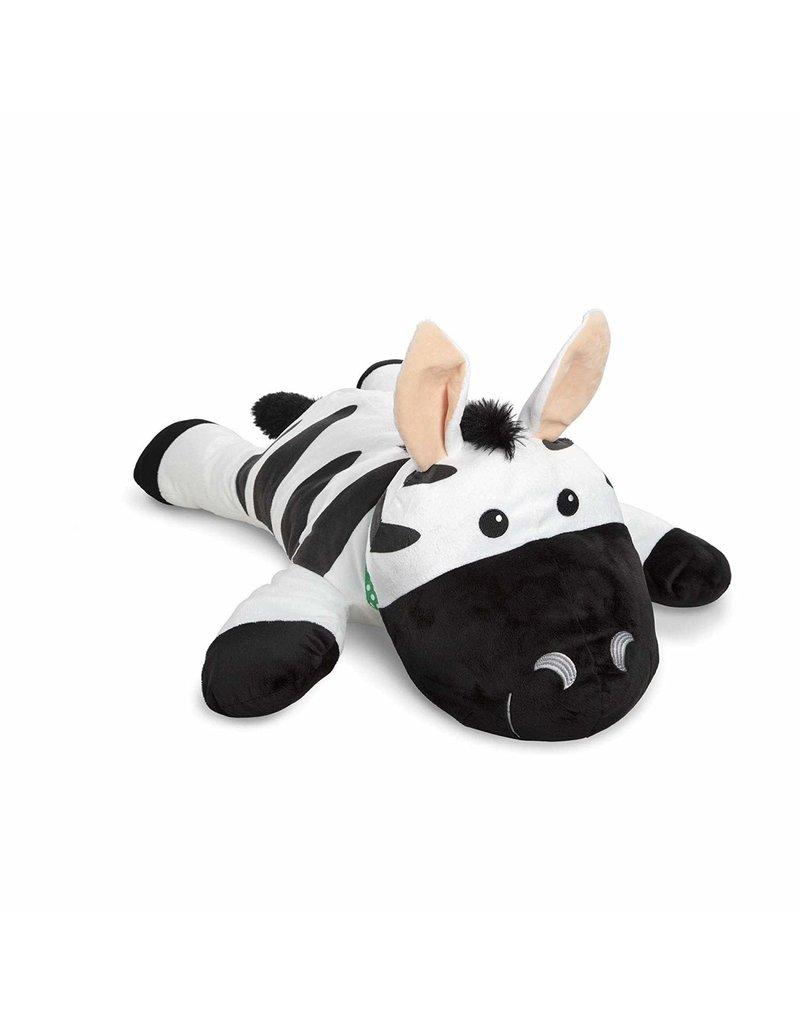 Melissa & Doug Plush Cuddle Zebra