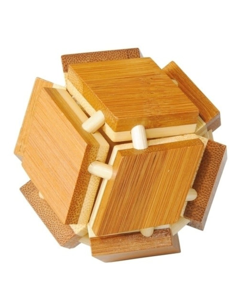 Fridolin IQ Test Bamboo Puzzle - Magic Box