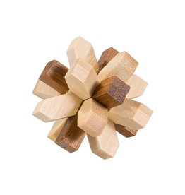 Fridolin Mini Bamboo Puzzle - crystal