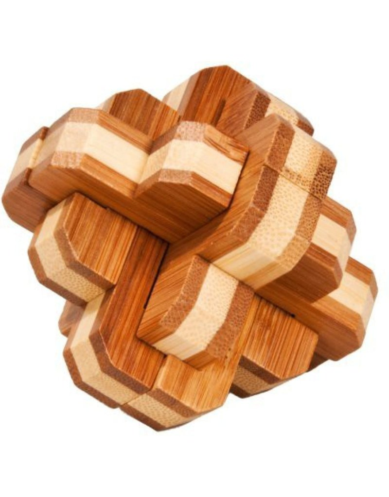 Fridolin Mini Bamboo Puzzle - mixed knot