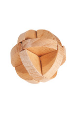 Fridolin Mini Bamboo Puzzle - three layer ball