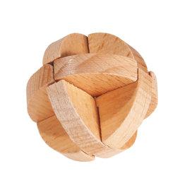 Fridolin Mini Bamboo Puzzle - three layer ball