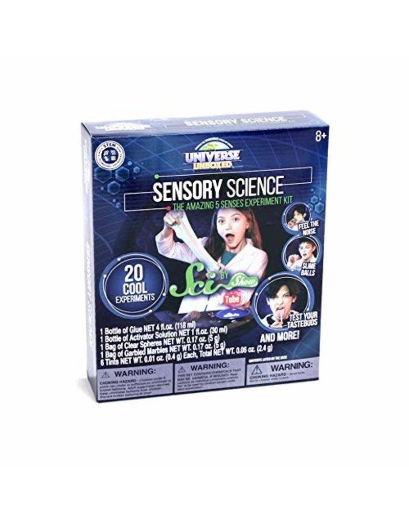 Be Amazing Toys Sensory Science Five Senses Experiment Kit
