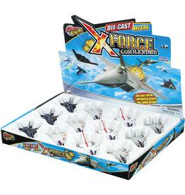 Toysmith Toysmith Die-cast X Force Commander Jet