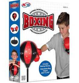 National Sporting Goods Free Standing Boxing Set