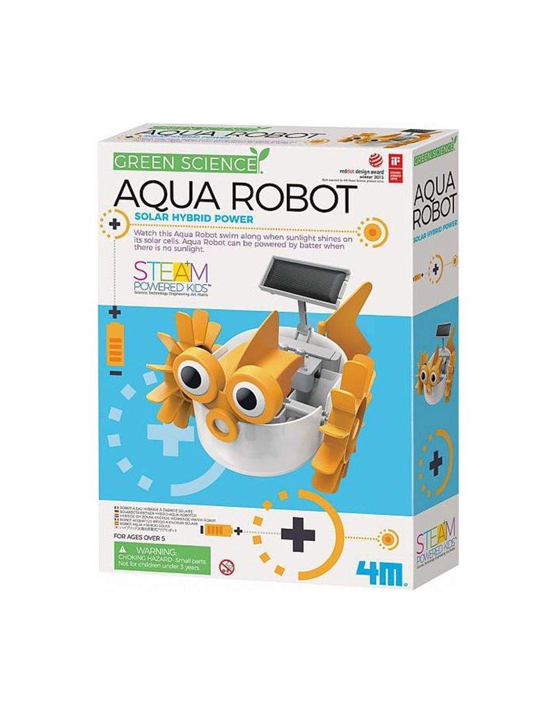 Toysmith Aqua Robot - Solar Hybrid Power