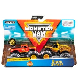 Spin Master Monster Jam: Radical Rescue and Earth Shaker