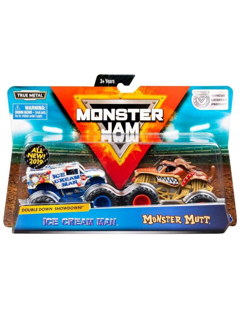 Spin Master Monster Jam: Ice Cream Man and Monster Mutt