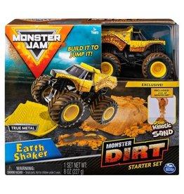 Spin Master Monster Jam Monster Dirt Starter Set: Earth Shaker