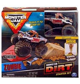Spin Master Monster Jam Monster Dirt Starter Set: Zombie