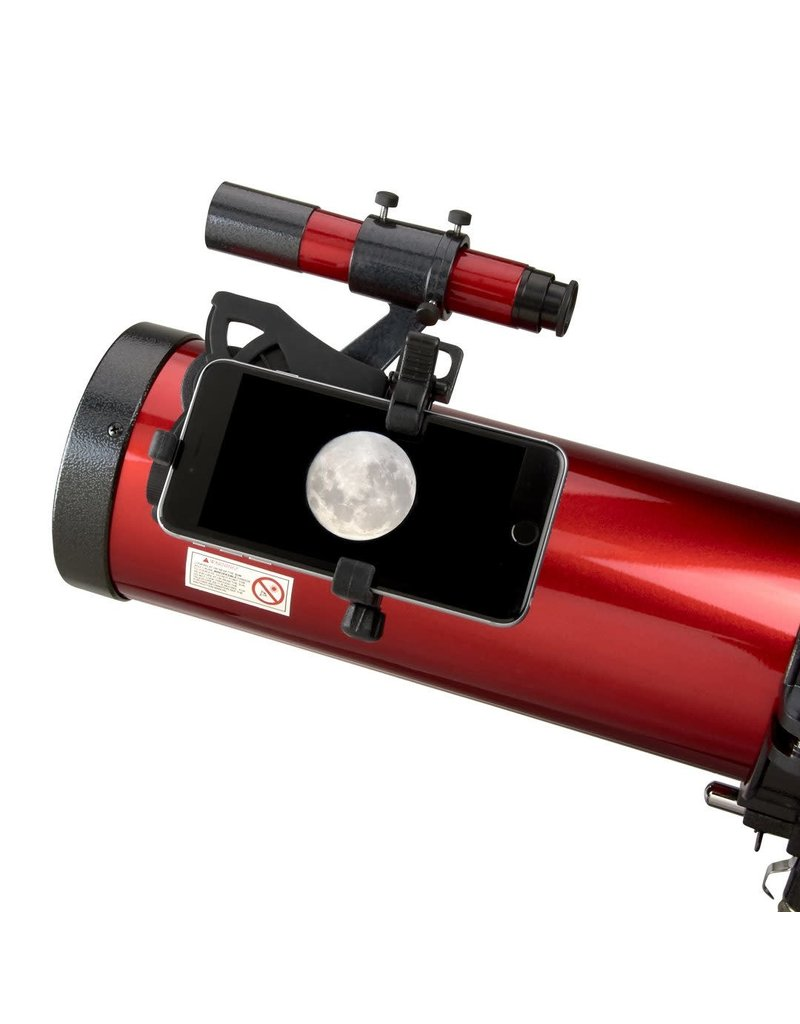 Carson optical Red Planet Telescope with smartphone adapter bundle-300SP