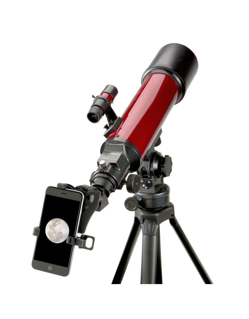 Carson optical Red Planet telescope with smartphone adapter bundle-RP-200SP