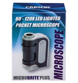 Carson optical Lighted Pocket Microscope - 60-120X