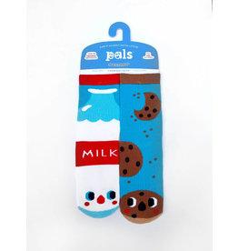Pals Socks Pals Socks - 4-8 Years - Milk & Cookies