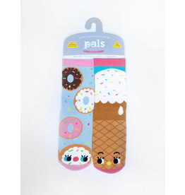 Pals Socks Pals Socks - 4-8 Years - Donut & Ice Cream