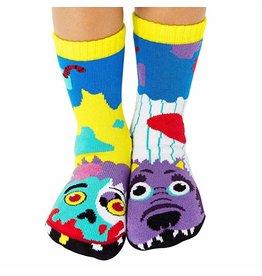 Pals Socks Pals Socks - 4-8 Years - Zombie & Warewolf