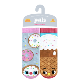Pals Socks Pals Socks - 1-3 Years - Donut & Ice Cream