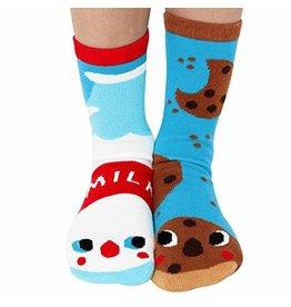 Pals Socks Pals Socks - 1-3 Years - Milk & Cookies
