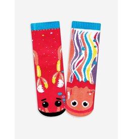 Pals Socks Pals Socks - 4-8 Years - Crab & Jellyfish