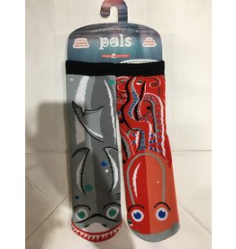 Pals Socks Pals Socks - 4-8 Years - Shark & Octopus