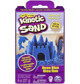 Spin Master Kinetic Sand 8oz Box - Neon Blue