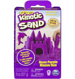Spin Master Kinetic Sand 8oz Box - Neon Purple