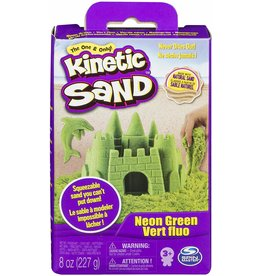 Spin Master Kinetic Sand 8oz Box - Neon Green