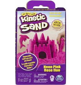 Spin Master Kinetic Sand 8oz Box - Neon Pink