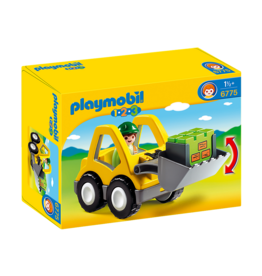 Playmobil Playmobil 1.2.3 Excavator