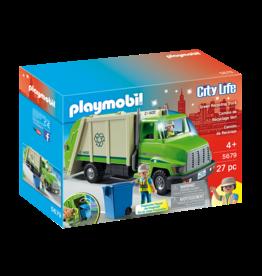 Playmobil Play Mobil - Green Recycling Truck