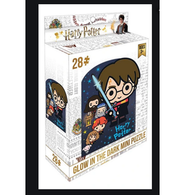 Paper House Production Mini Puzzle - Glow-in-the-Dark Harry Potter